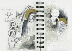 Sketch book detail